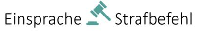 Einsprache Strafbefehl Logo